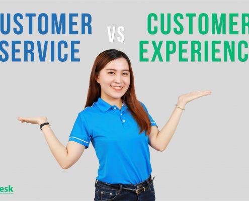 trải nghiệm khách hàng
