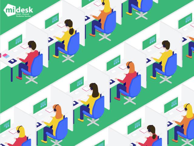 MiDesk giúp chăm sóc khách hàng đa kênh Omni-channel hiệu quả