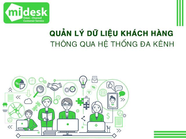 Chăm sóc khách hàng theo hệ thống đa kênh hợp nhất với MiDESK