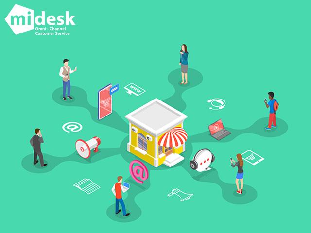MiDESK -Hệ thống quản lý dữ liệu khách hàng